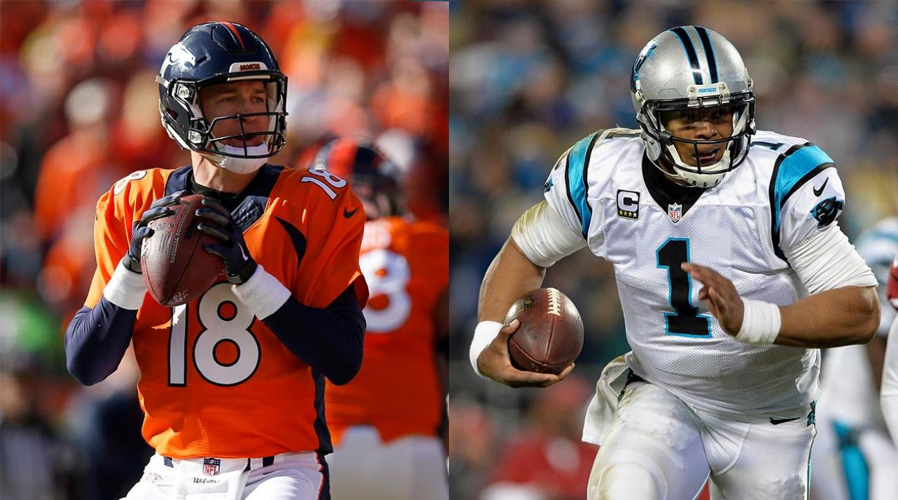 Panthers open as Super Bowl favorites over Broncos