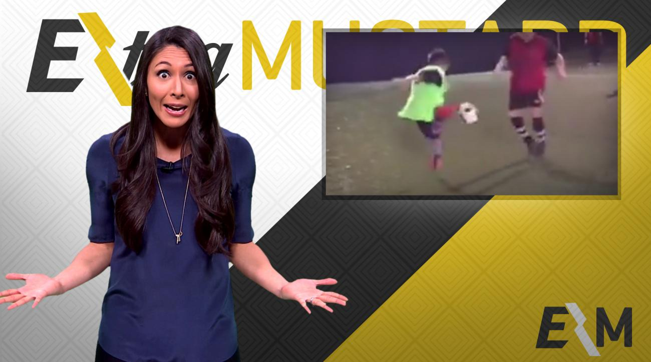 Mustard Minute: Kid's sick soccer move makes other kid sad IMG