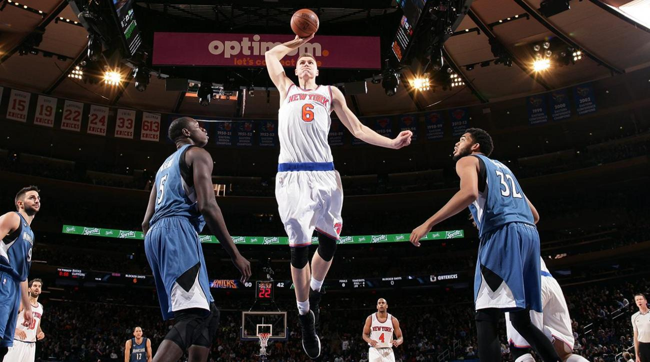 Give and Go: The rise of Kristaps Porzingis IMG