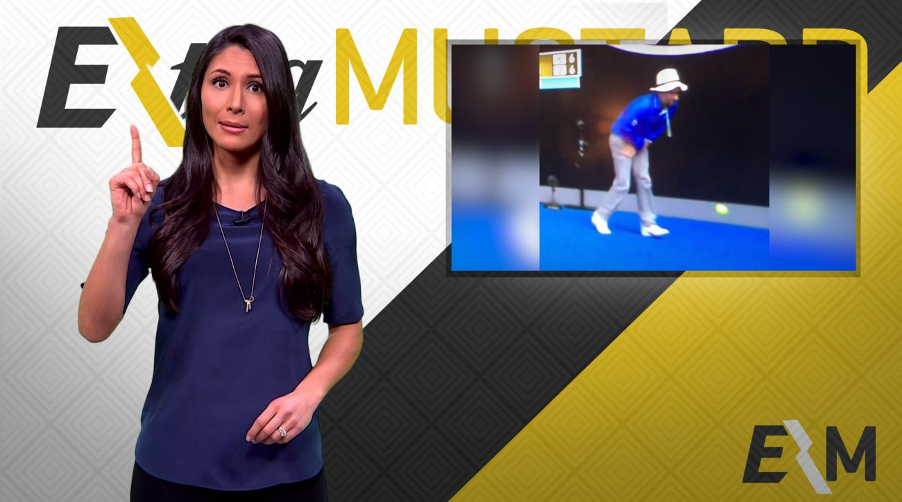 Mustard Minute: Line judge takes ball to groin at Australian Open Dance Remix IMG