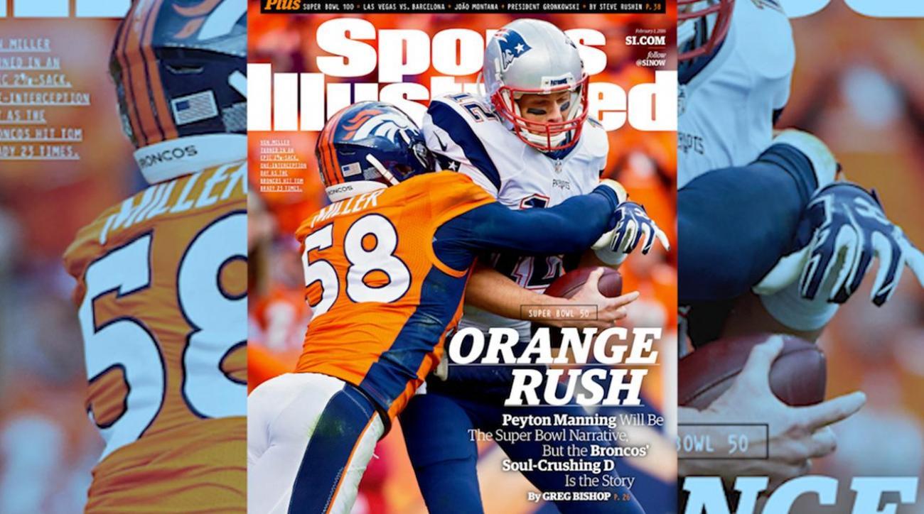 Von Miller, Broncos land Sports Illustrated cover