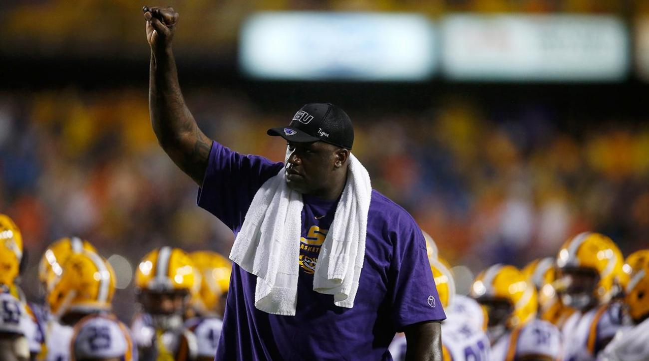 Shaq says he was 'paid very well' while playing at LSU iMAGE