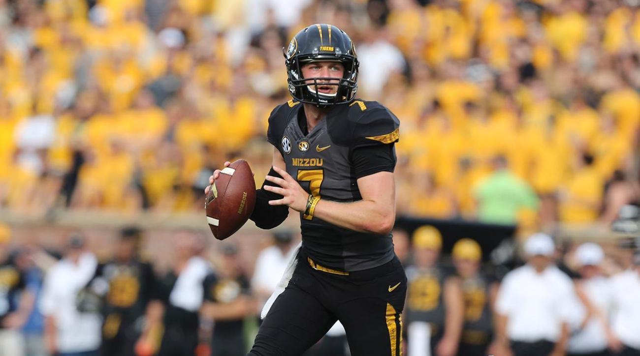 Missouri dismisses quarterback Maty Mauk from football program IMAGE