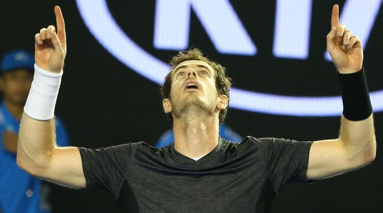 Murray beats Raonic in five sets, will face Djokovic in Australian Open final IMAGE