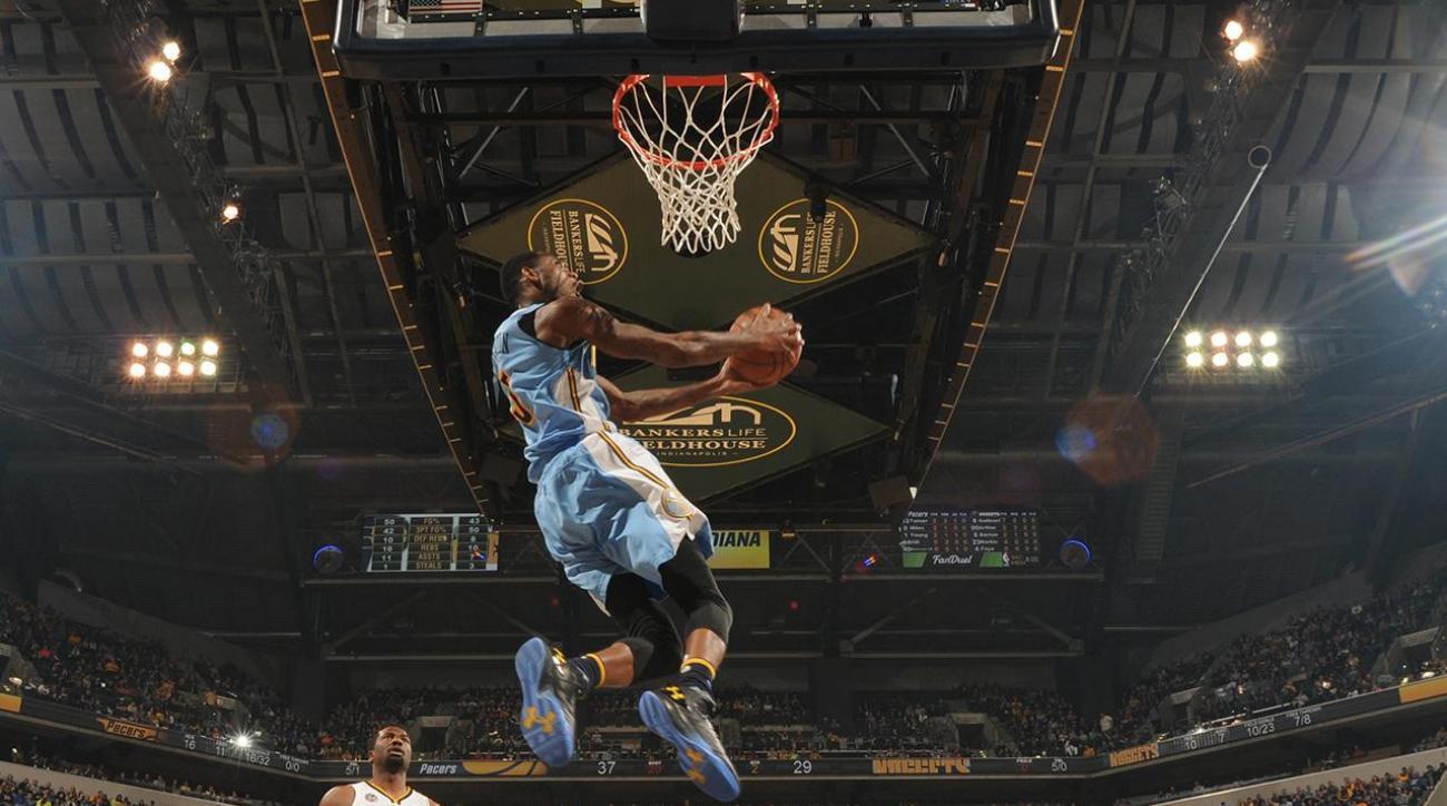 Report: LaVine, Drummond, Barton and Gordon in NBA Dunk Contest