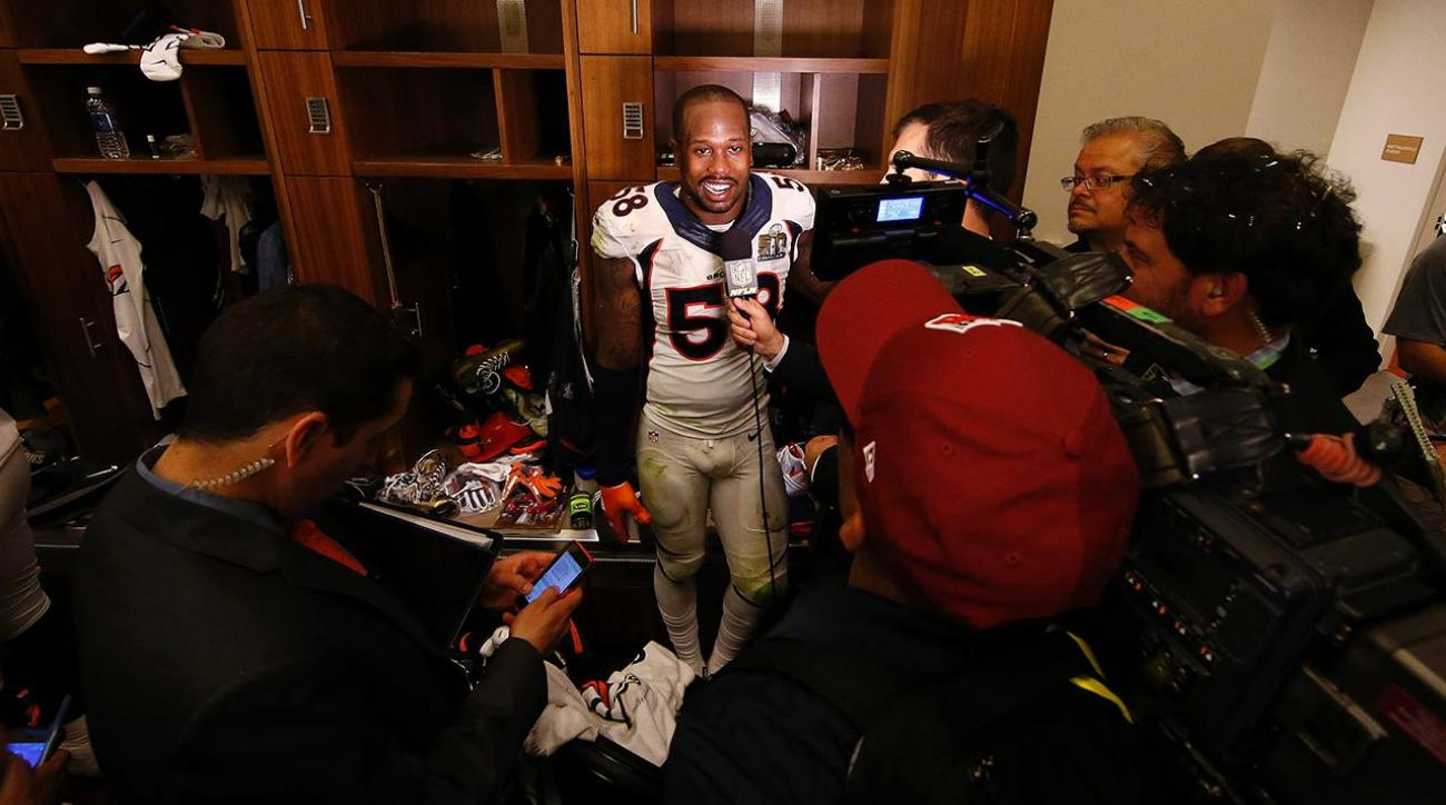 Von Miller extends support to Johnny Manziel after Super Bowl 50 IMAGE