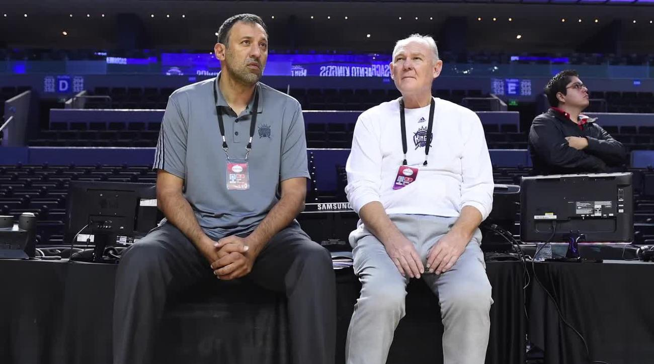 Kings GM Vlade Divac: George Karl is our coach IMAGE