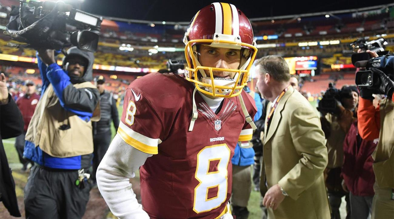 Report: Redskins, Kirk Cousins break off contract talks