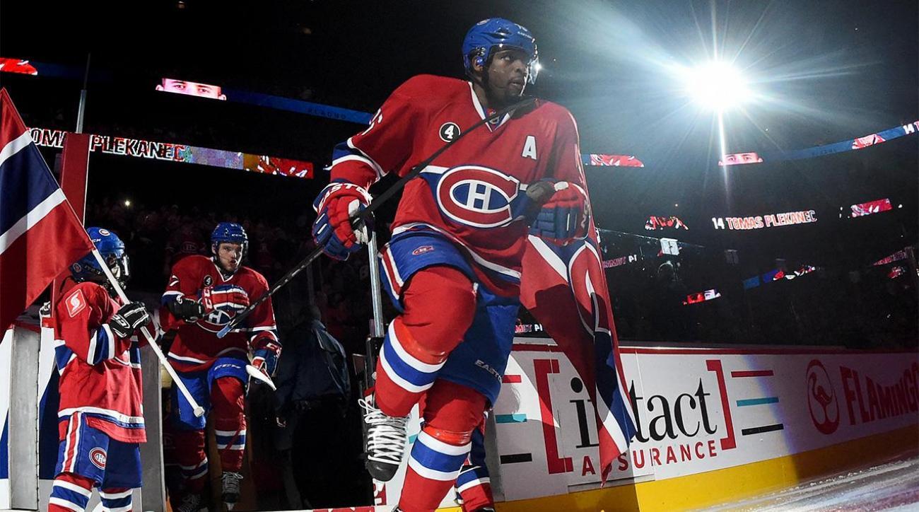 Canadiens exploring trade of P.K. Subban