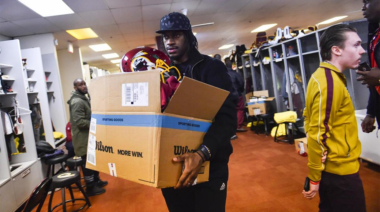Bruce Allen's comments signal end of RG3 era in D.C.