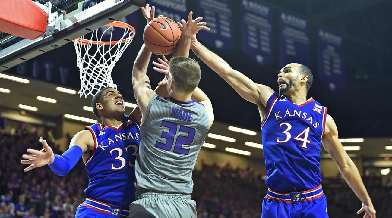 Kansas Jayhawks frontcourt combo keep them No. 1 IMG