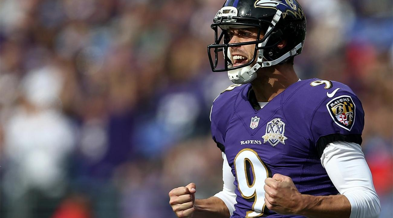 Ravens place franchise tag on K Justin Tucker