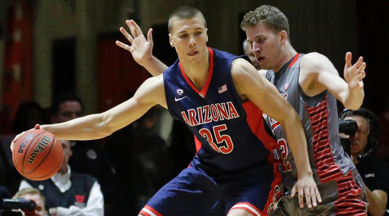 Tarczewski-Poeltl showdown headlines Arizona-Utah IMG