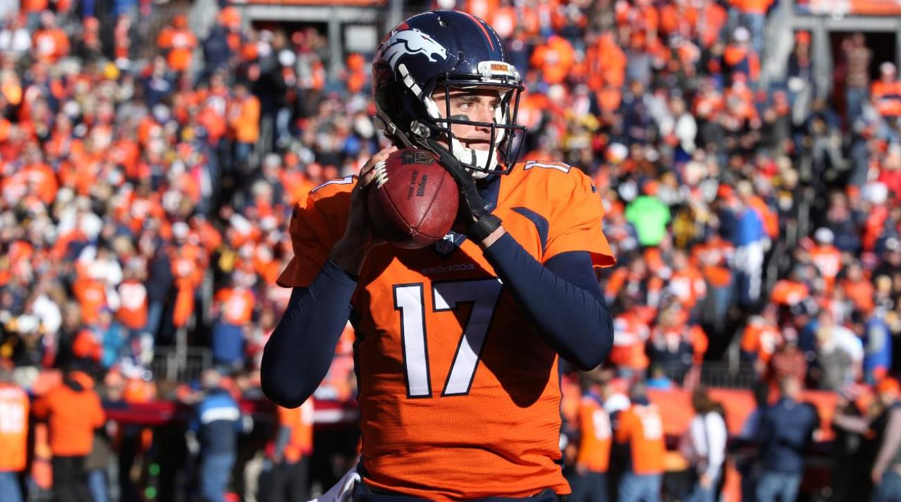 Report: Texans interested in signing Broncos QB Brock Osweiler