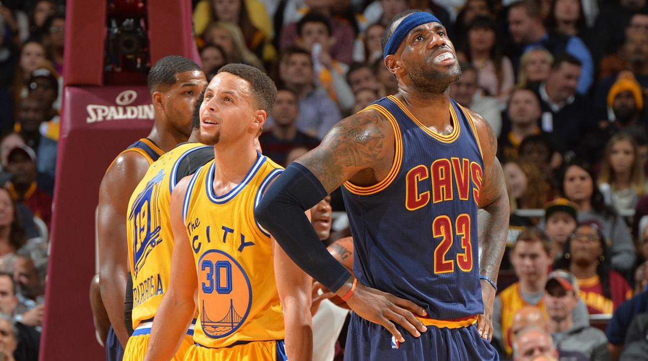 Give and Go: Stephen Curry and LeBron James IMG