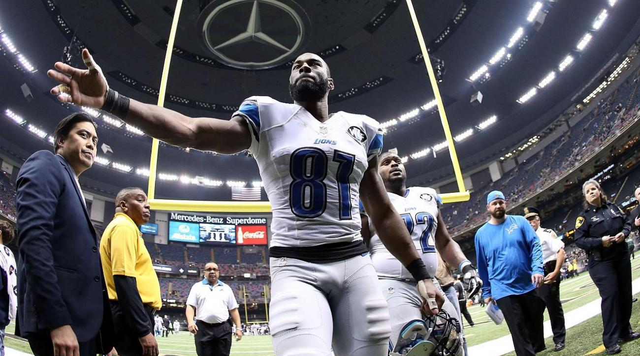 Lions star WR Calvin Johnson retires after 9 seasons IMAGE