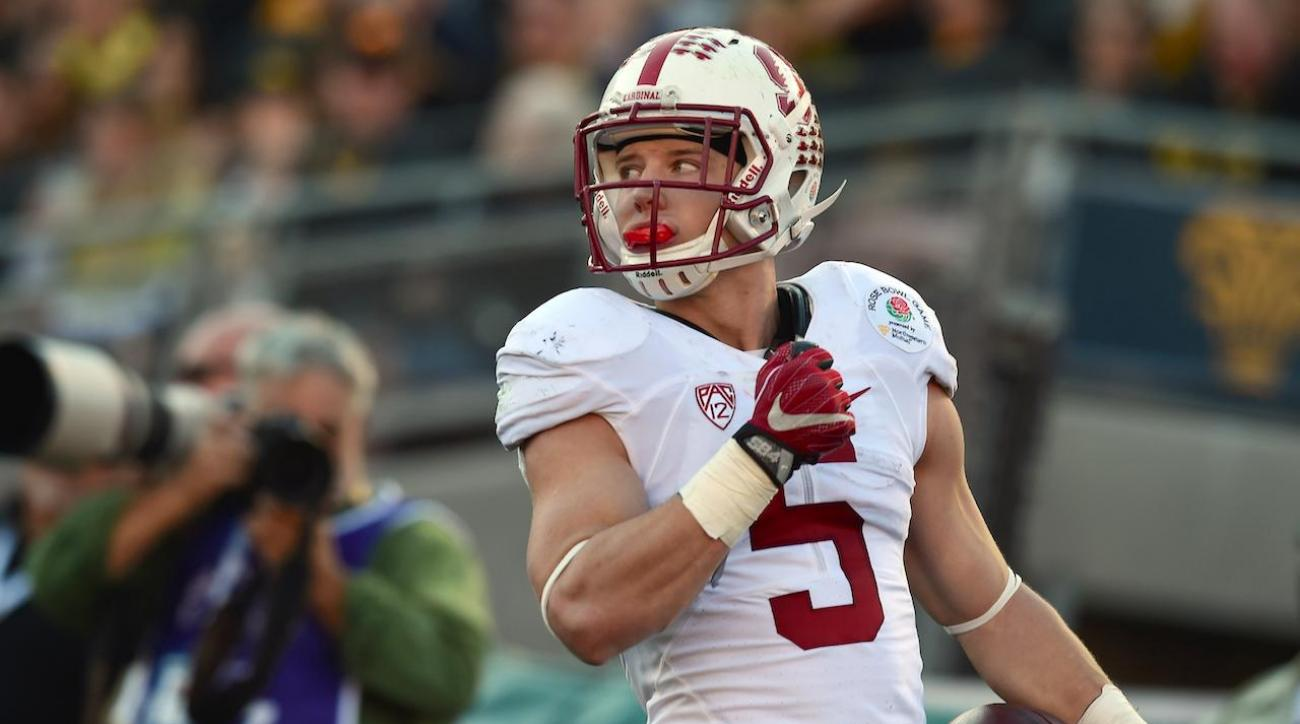 stanford cardinal, oregon ducks, christian mccaffrey, usc trojans, sports illustrated, college football