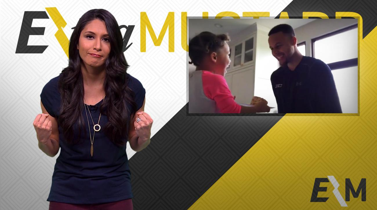 Mustard Minute: Riley Curry sings Happy Birthday to Steph Curry IMG