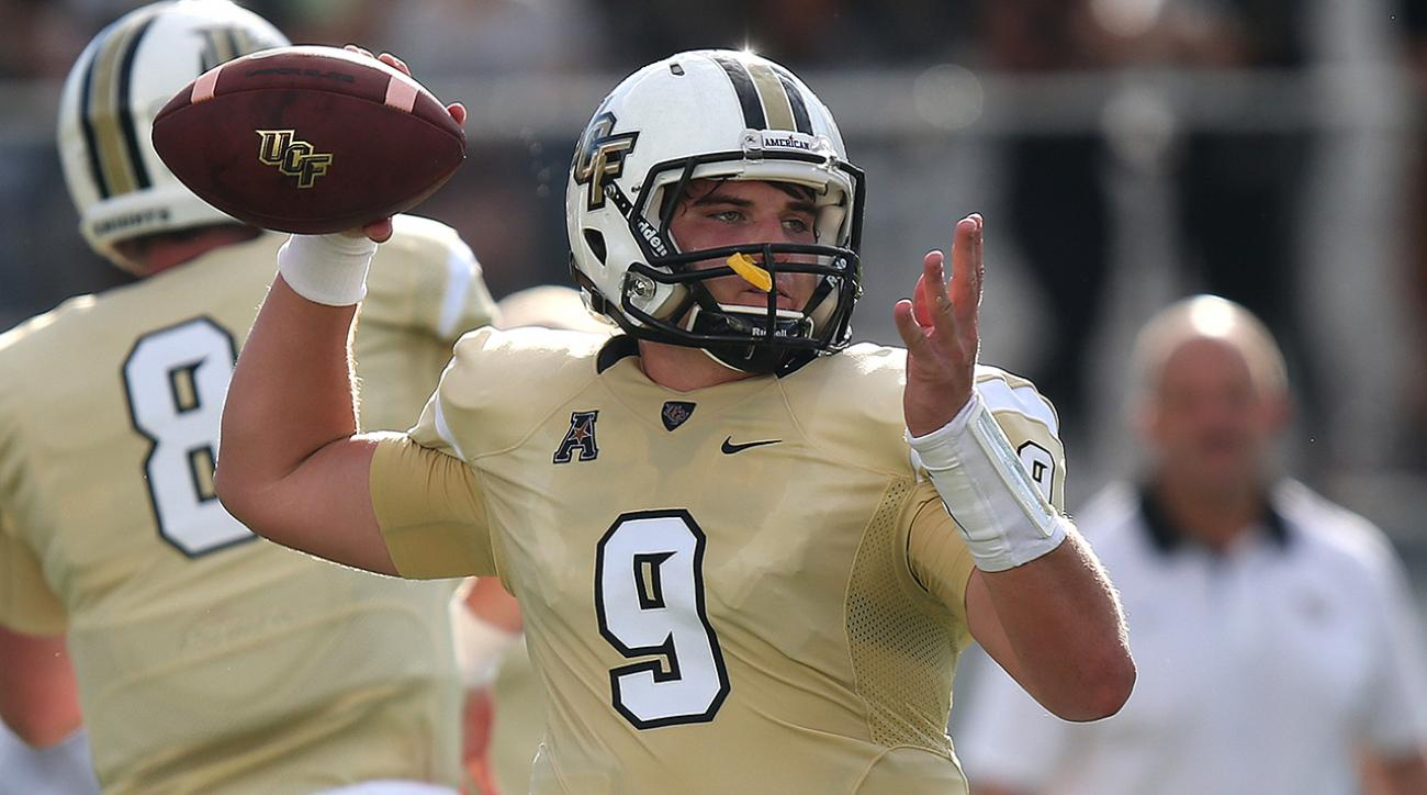 UCF quarterback Bo Schneider will transfer to Pittsburgh IMAGE