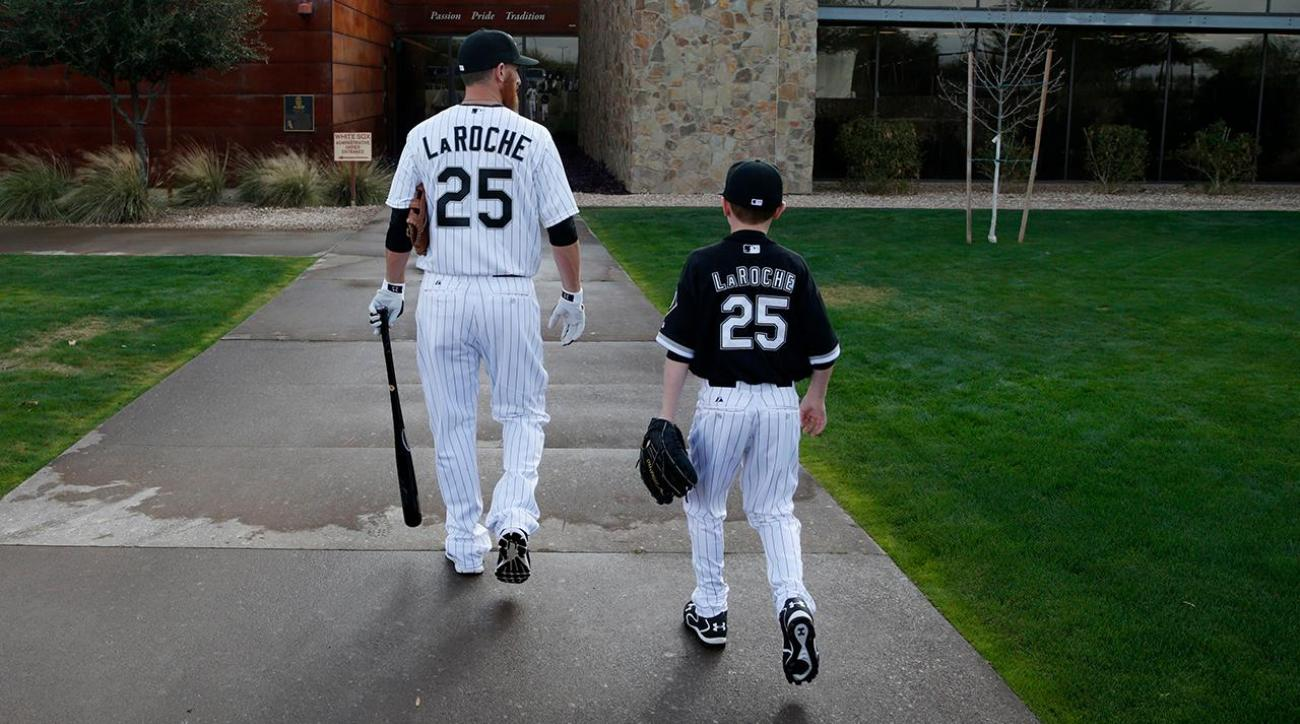What was behind Adam LaRoche's decision to retire?