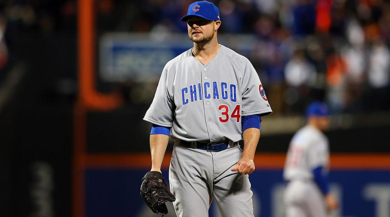 Cubs P Jon Lester has played for years with bone chip in elbow IMAGE