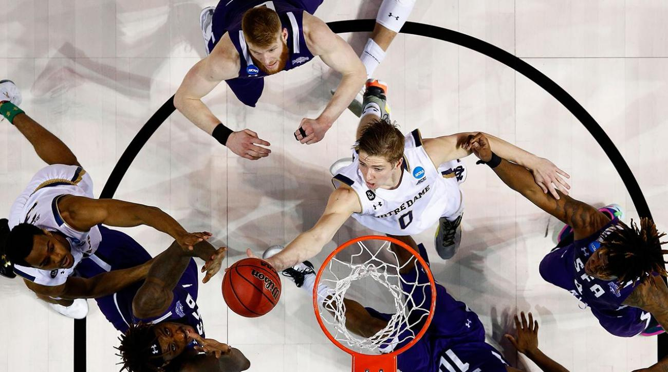 Sweet 16 Notre Dame Fighting Irish Rex Pflueger IMG