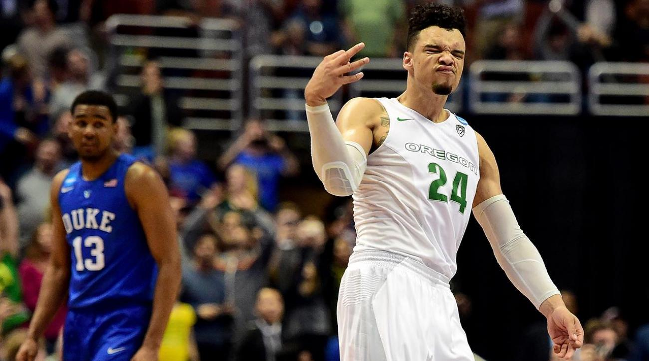 """Coach K reportedly tells Oregon's Dillon Brooks to stop """"showing off"""" IMG"""