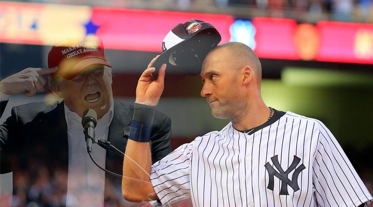 Derek Jeter is not interested in being Donald Trump's VP IMAGE
