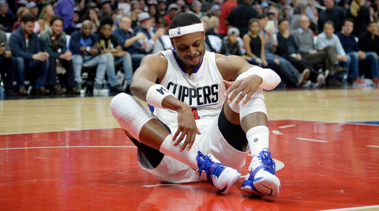 Clippers' Paul Pierce will miss time with ankle injury IMAGE