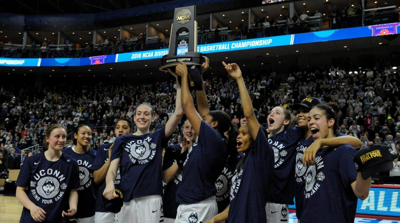 UConn dominates way to ninth straight Final Four