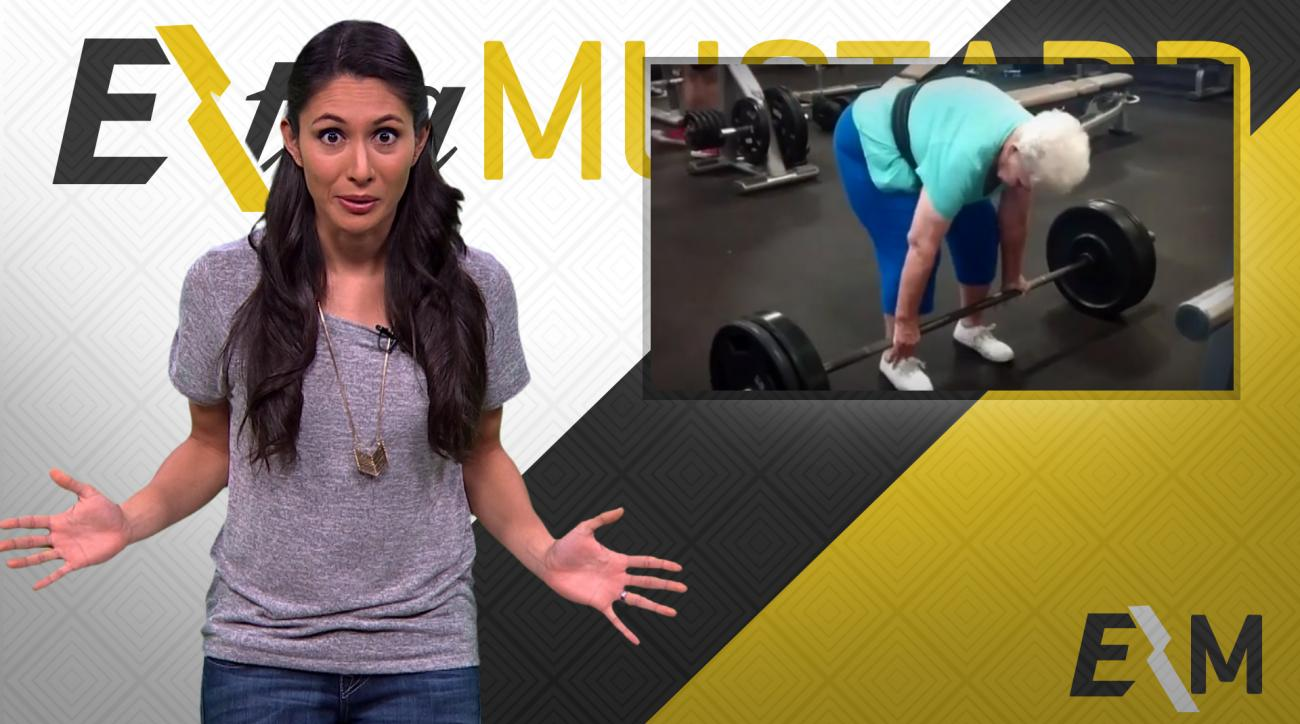 Mustard Minute: 78-year old woman deadlifts 225 pounds like a boss IMG
