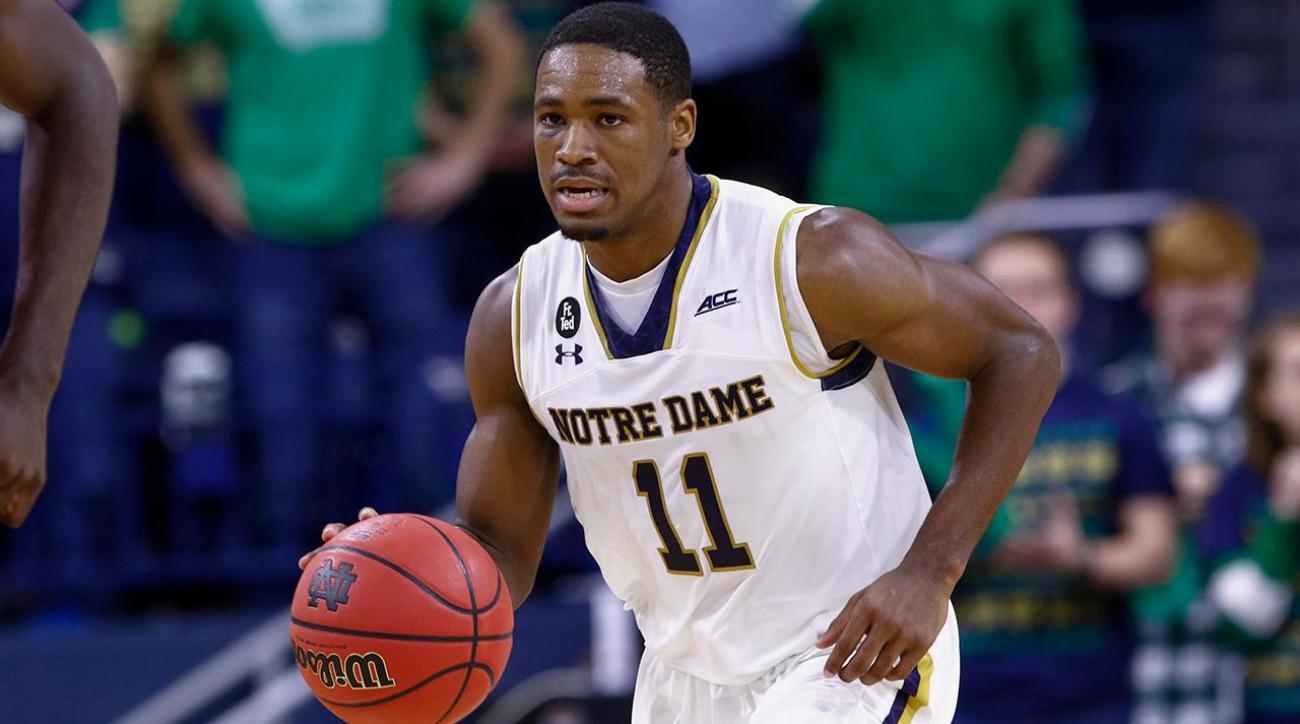Notre Dame's Demetrius Jackson declares for NBA draft