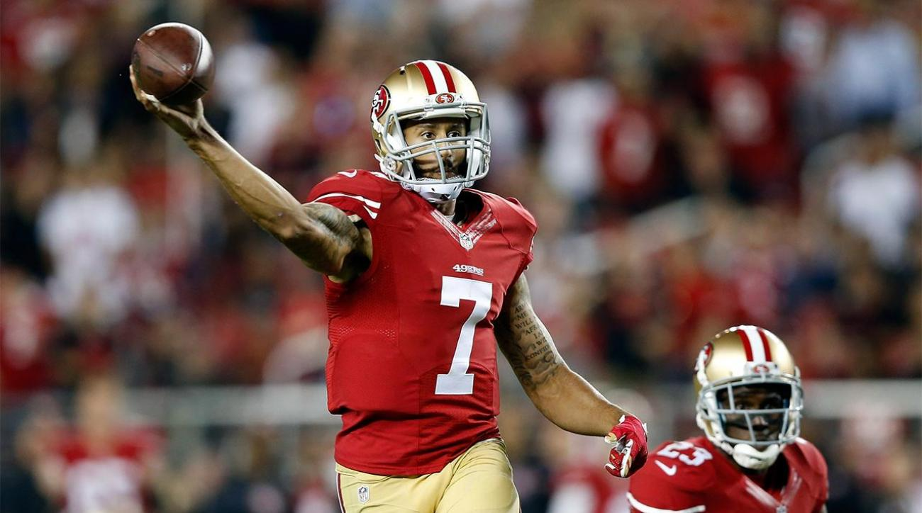 Report: 49ers won't trade Kaepernick unless offer blows them away