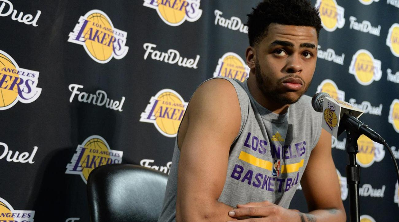 D'Angelo Russell addresses leaked video