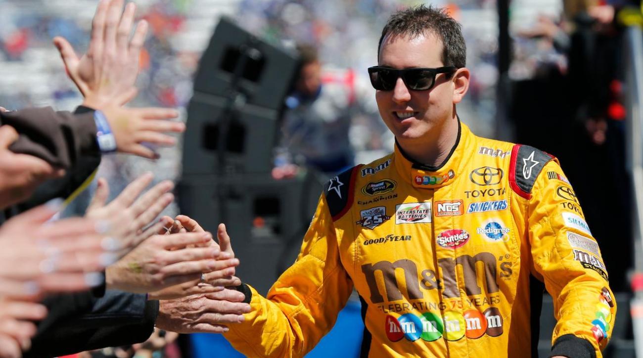 NASCAR star Kyle Busch surprises fan IMAGE