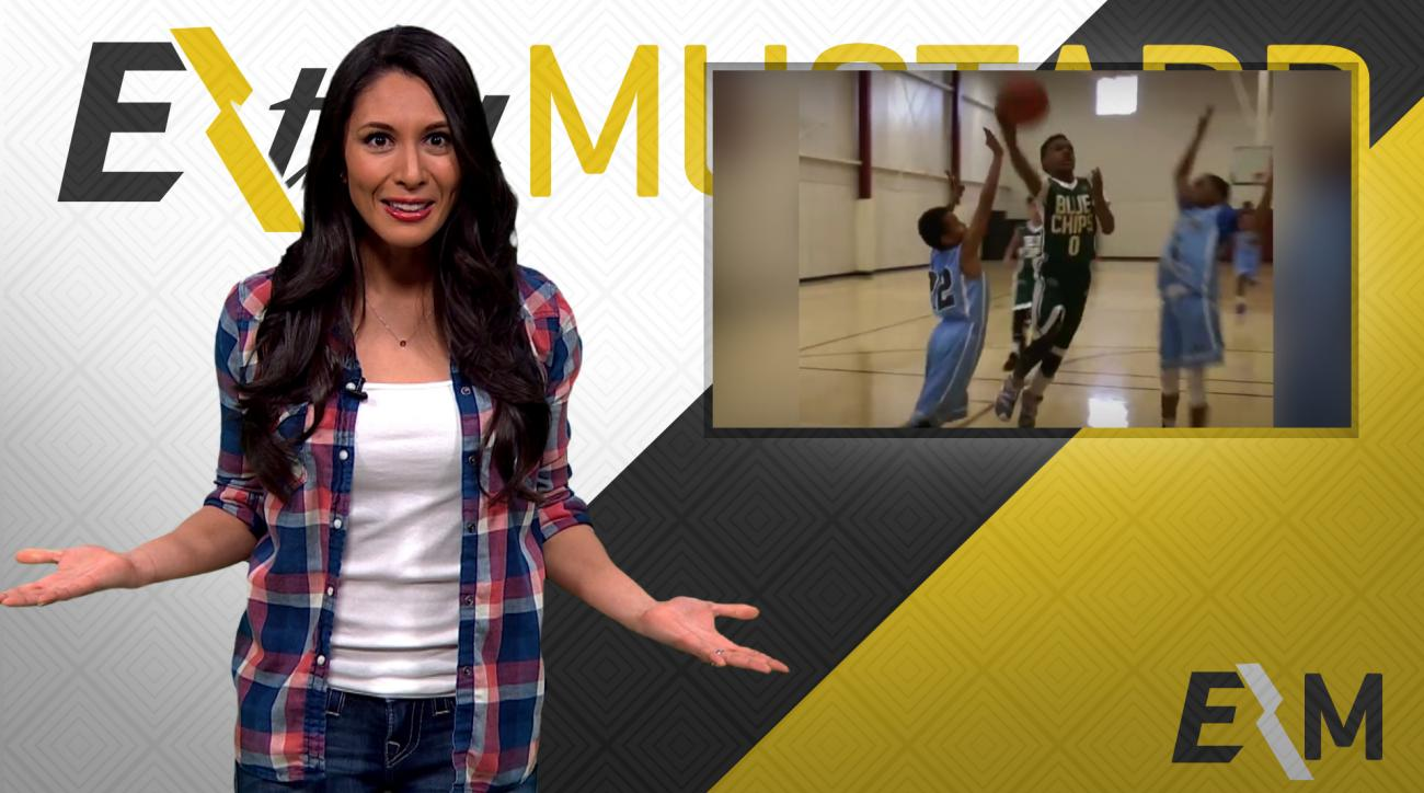 Mustard Minute: LeBron James's son might be better than his dad at basketball IMG