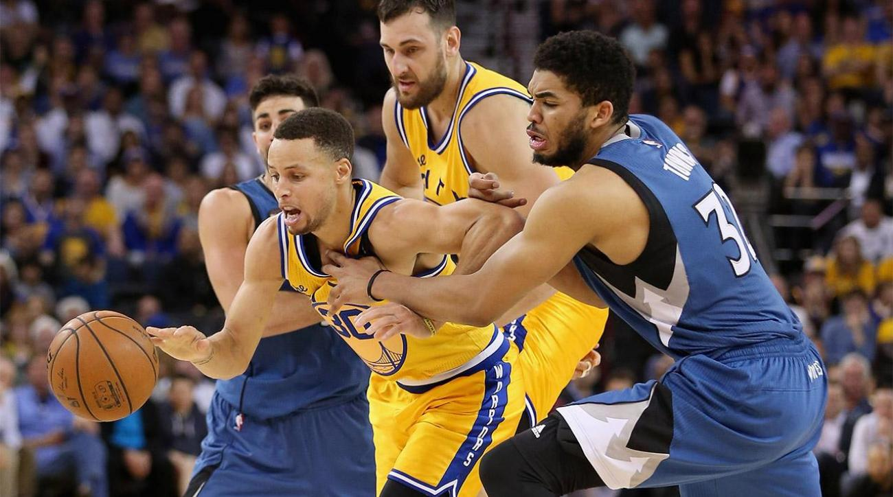 Warriors drop stunner to Timberwolves, history in jeopardy