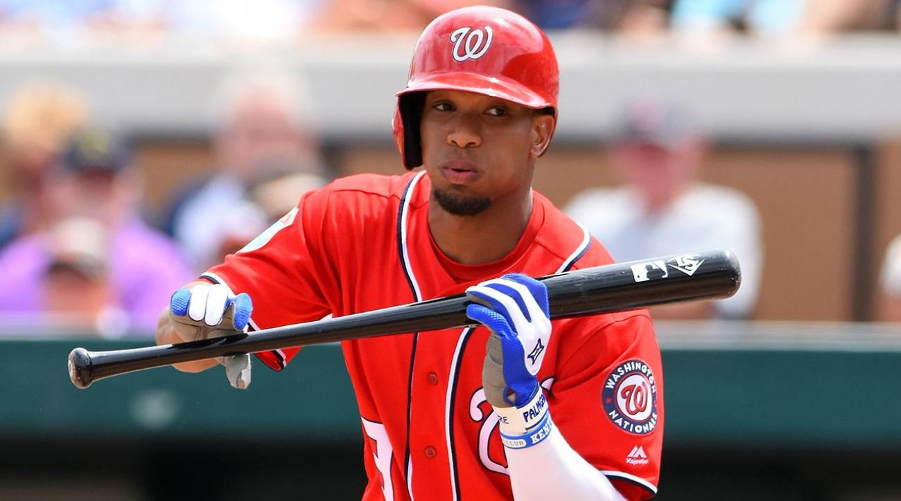 Nationals place outfielder Ben Revere on DL with oblique strain IMAGE