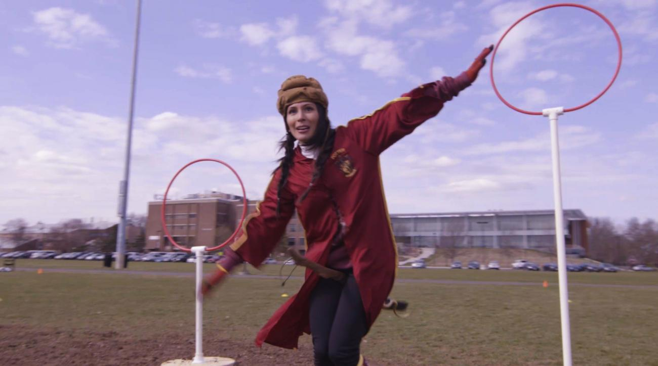 Mustard Minute: Quidditch is a real sport played by real people IMG