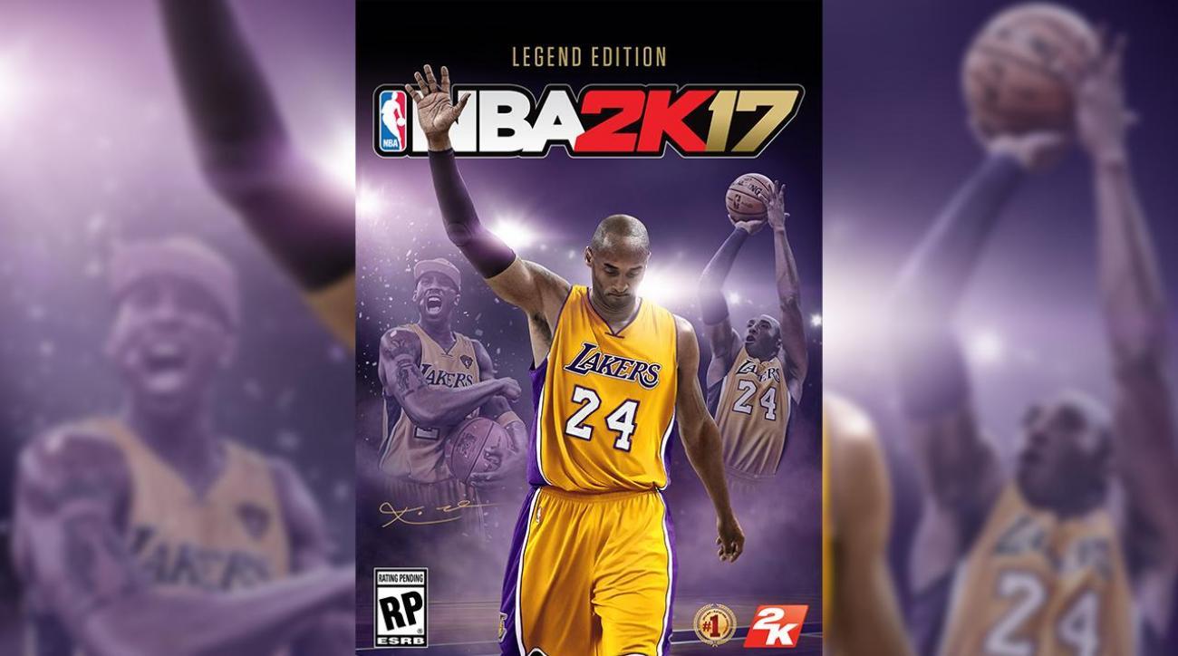 Kobe Bryant lands cover of 2k17 Legend Edition