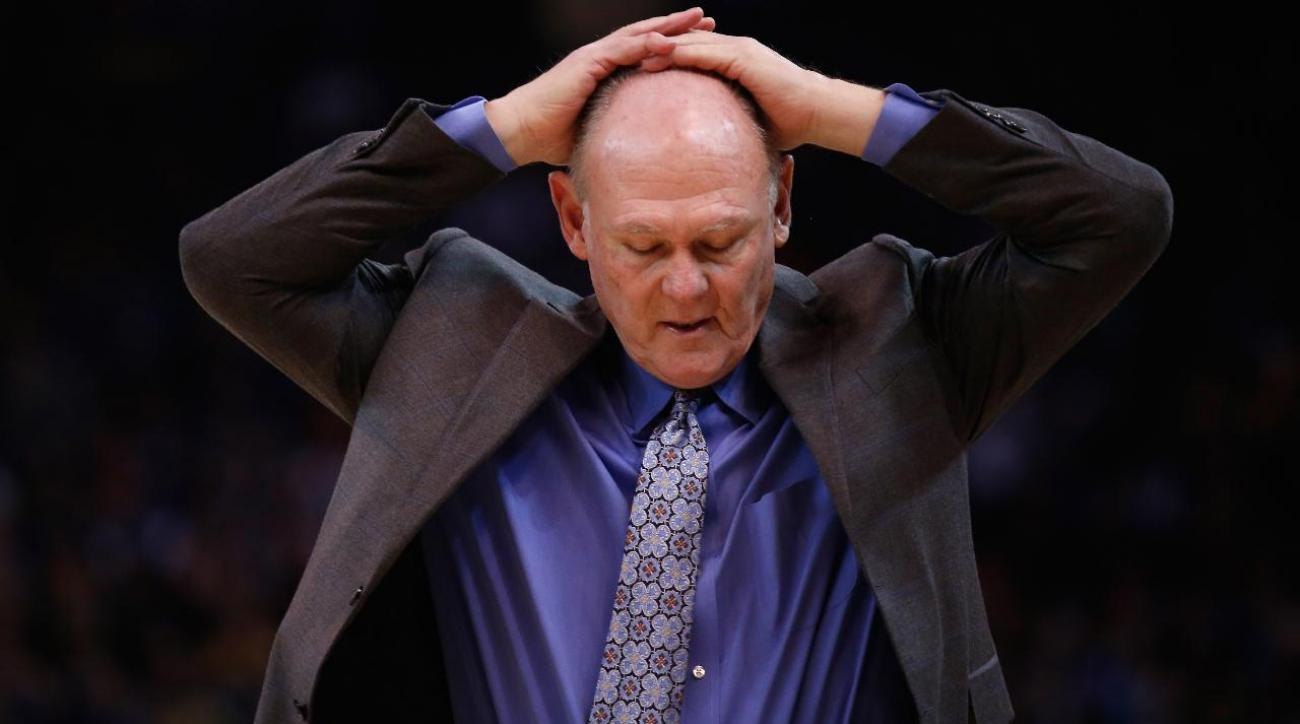 Report: Kings expected to fire George Karl