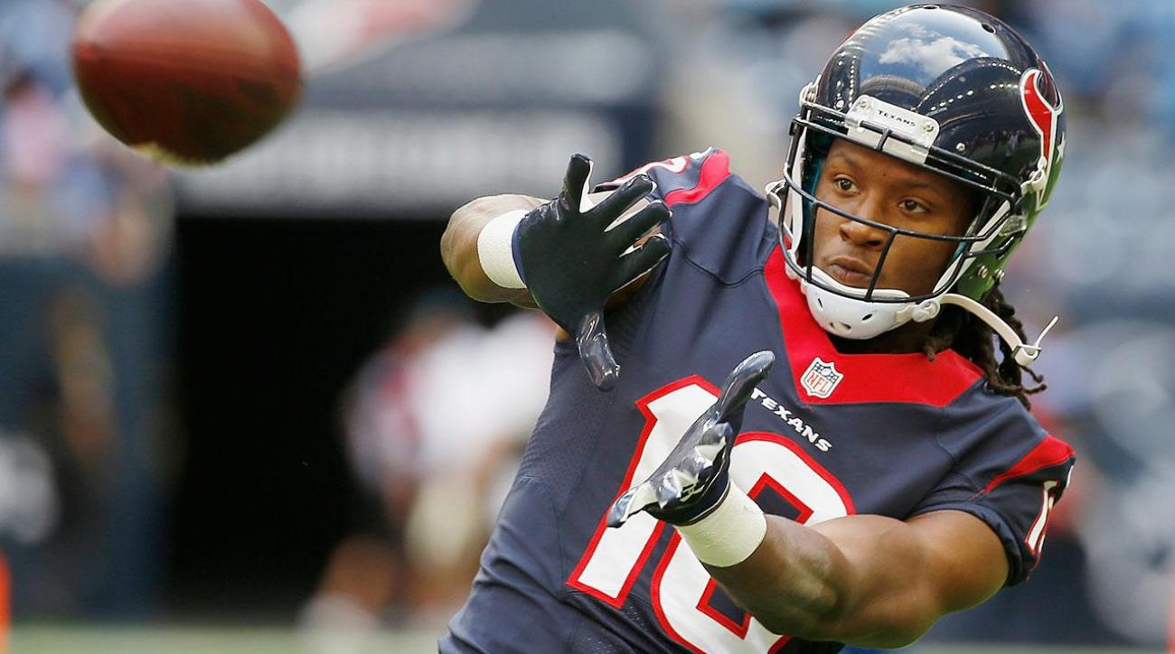 Texans exercise fifth-year option on WR DeAndre Hopkins