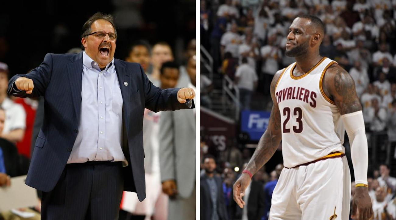 Stan Van Gundy: Refs give LeBron James preferential treatment