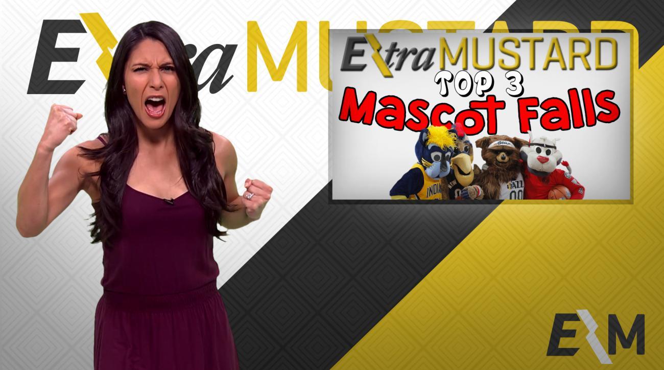 Mustard Minute: Top 3 NBA mascot falls IMG