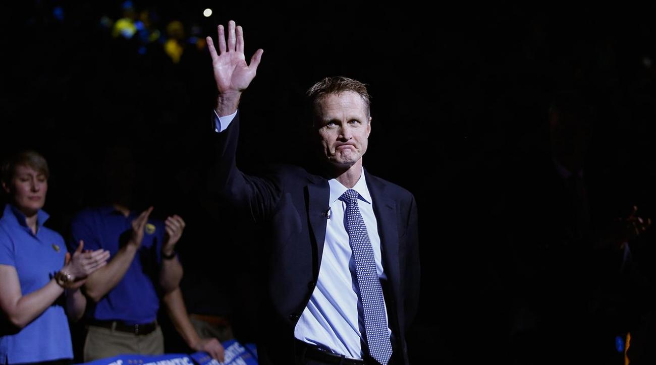Warriors' Steve Kerr named NBA Coach of the Year