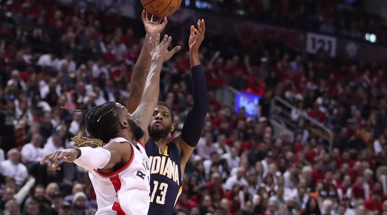 Raptors stun Pacers, complete comeback in Game 5