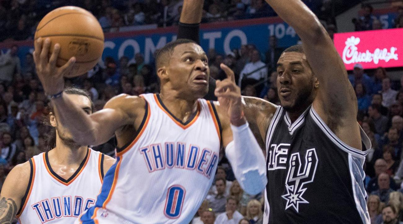 Spurs-Thunder nba playoffs preview IMG