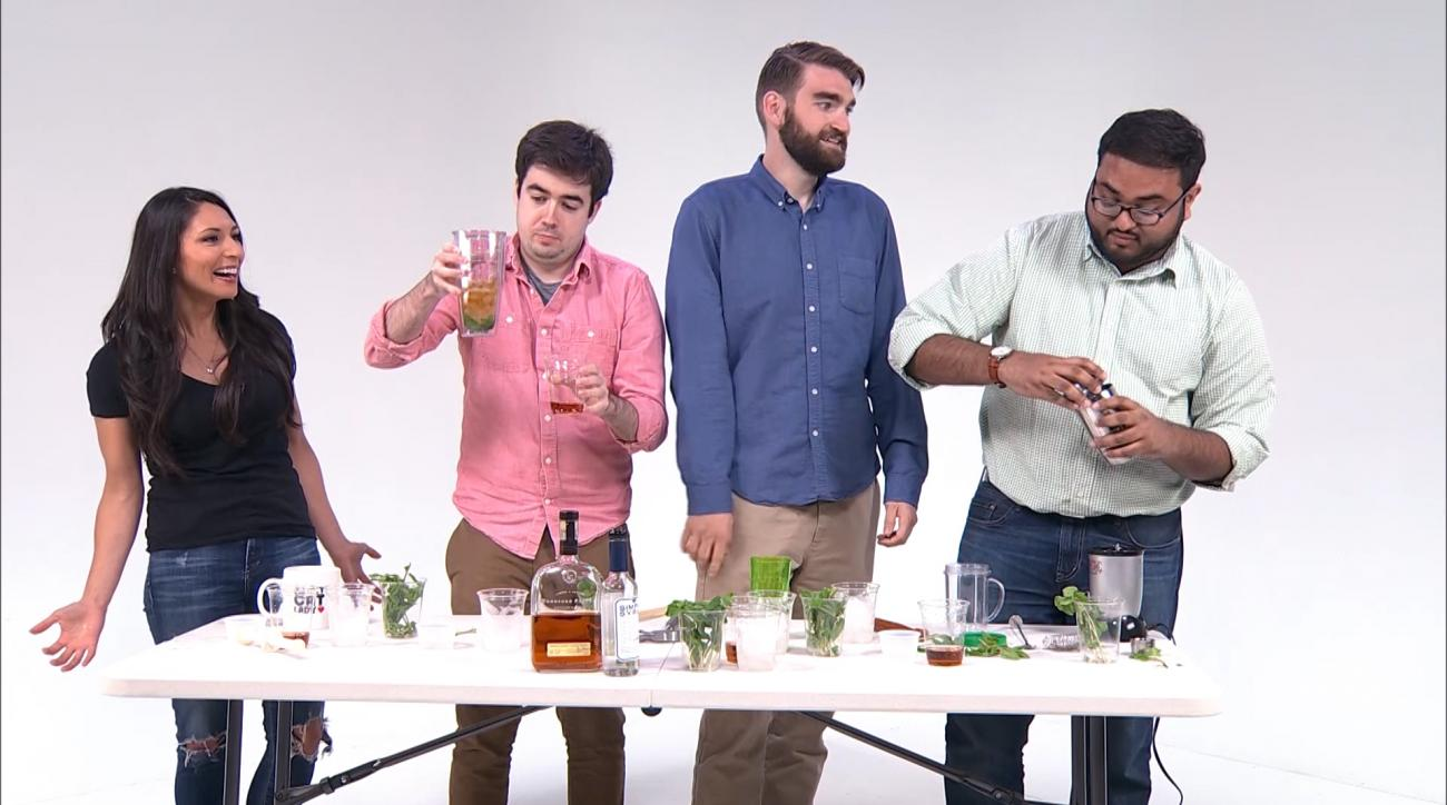 Mustard Minute: A race to make the best Mint Julep for the Kentucky Derby IMG