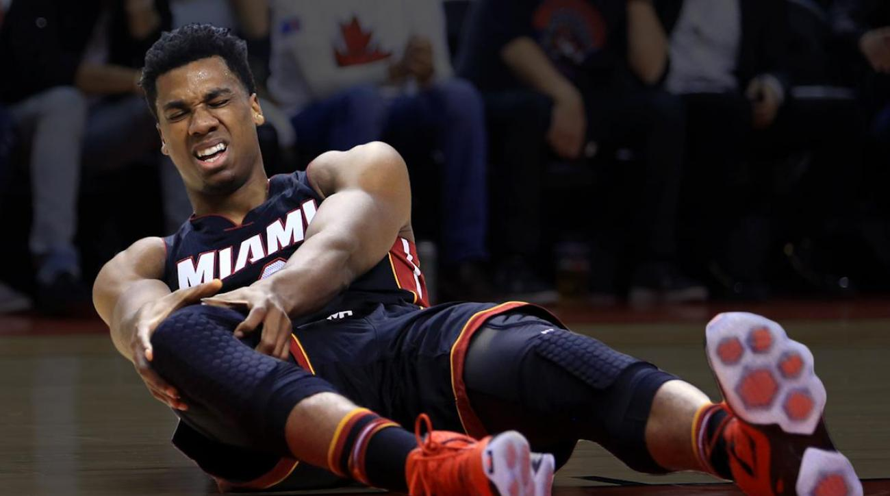 Heat's Hassan Whiteside out for Game 4 with injury INJURY
