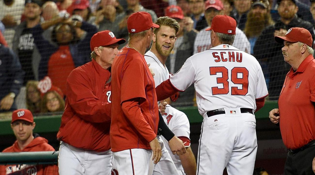 Nationals OF Bryce Harper suspended one game, will appeal IMAGE
